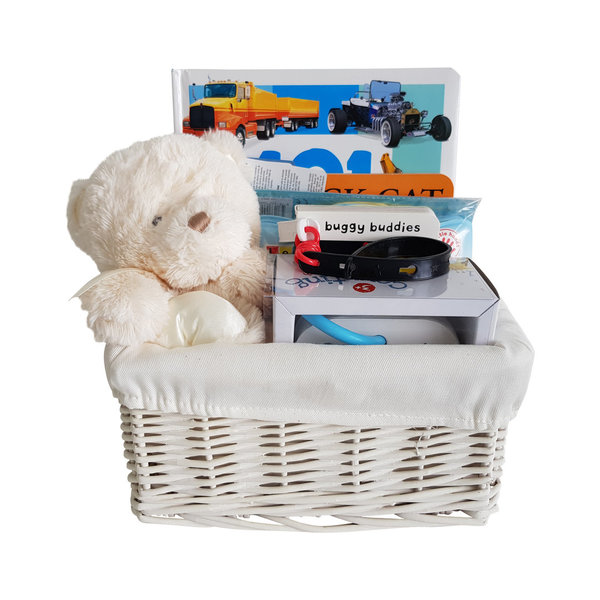 First Teddy Basket