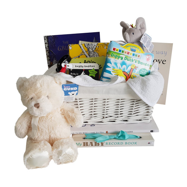 Deluxe Book Basket