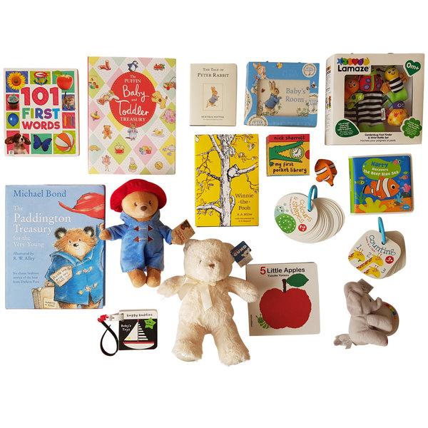 Super Selection in Hamper - Brighter Babies' Book Baskets